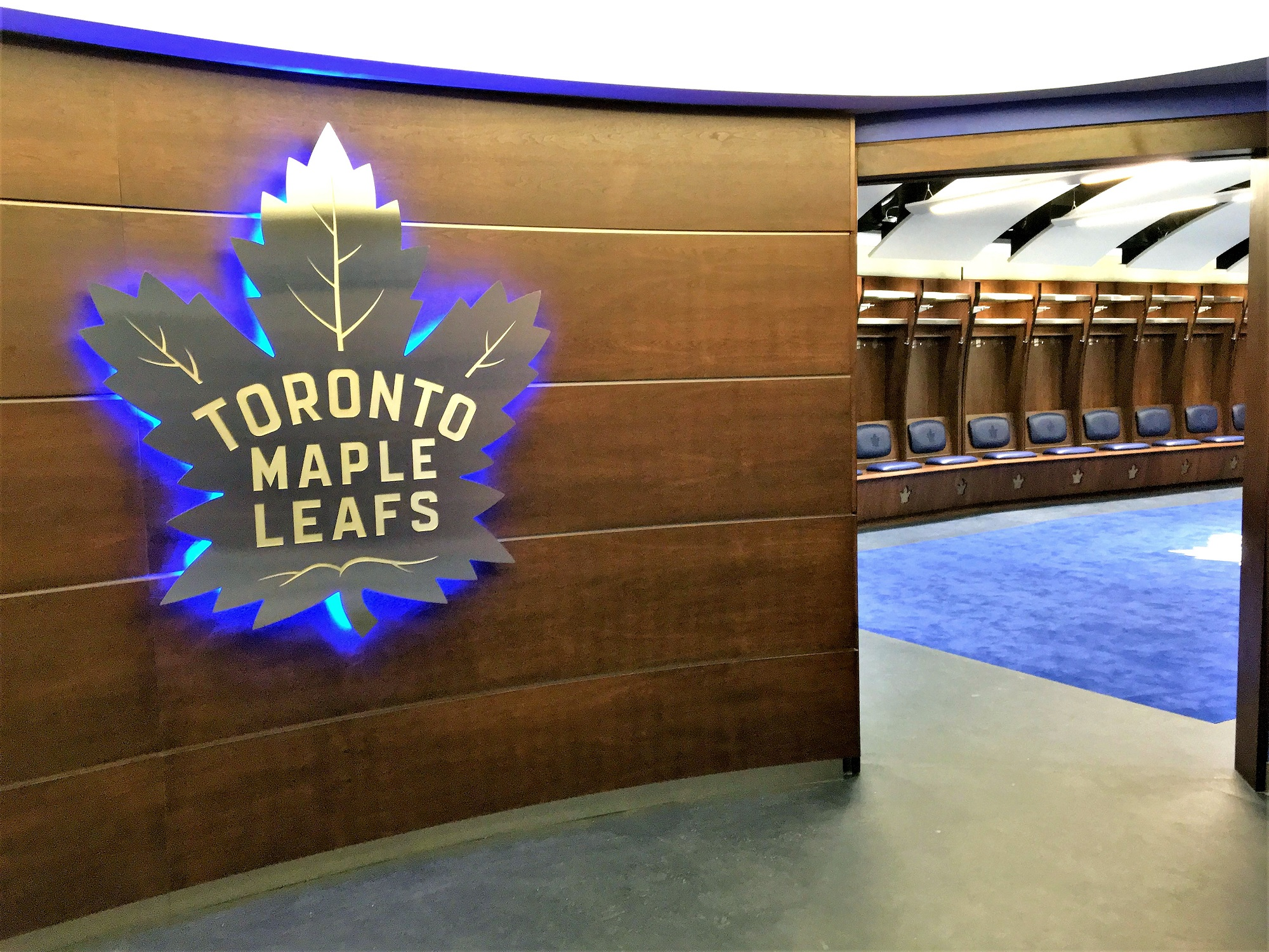 Maple Leafs Dressing Room Project Image